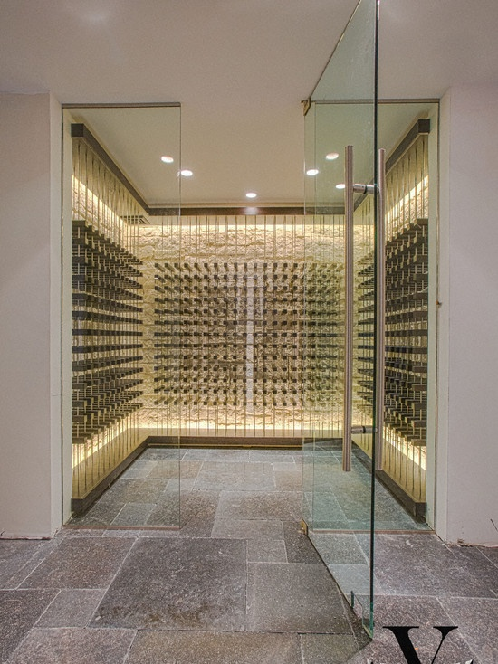 Contemporary Wine Cellar Design, Pictures, Remodel, Decor and Ideas - page 6