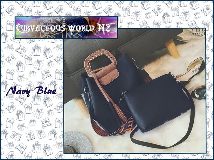 STYLISH 2 for 1 Women's embroidery strap bag and Clutch.