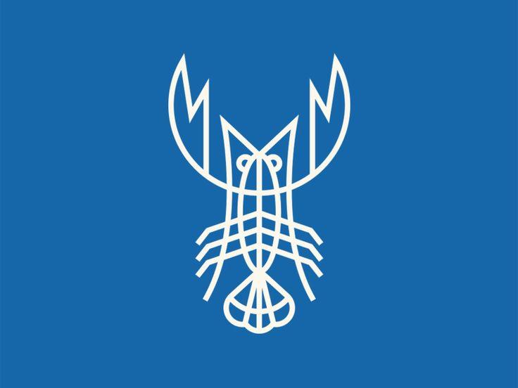 Blue Lobster by Steve Wolf Designs