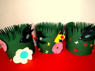 Προσχολική Παρεούλα : Με τα χρώματα της Άνοιξης !!