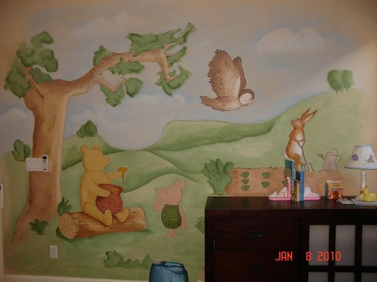 17 best images about nursery on pinterest church nursery for Church nursery mural