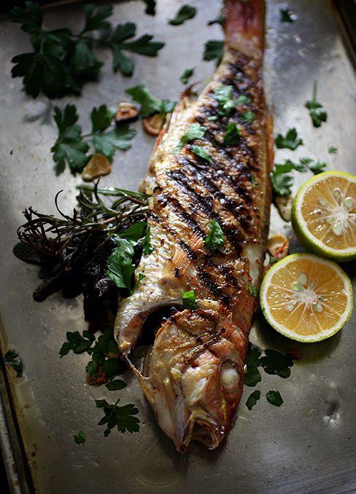 Grilled Fish #Higuccini
