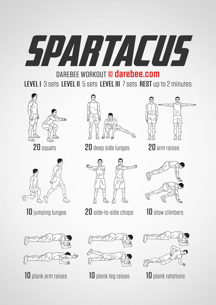 Spartacus - Darebee Workout