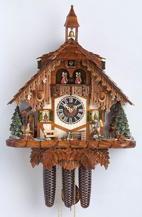 I've always been fascinated with cuckoo clocks!