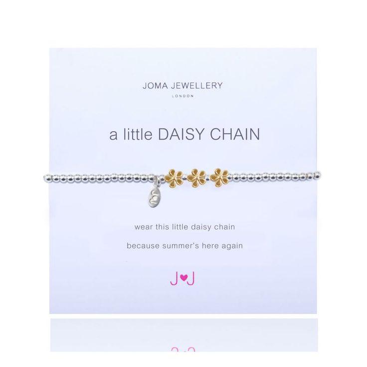 1c4145ddd7 Joma Jewellery - A Little Daisy Chain - Bracelet - Gold - £14.50 - Joma  JewelleryJoma Jewellery - A Little Daisy Chain - Bracelet - Gold C… |  Jewellery ...