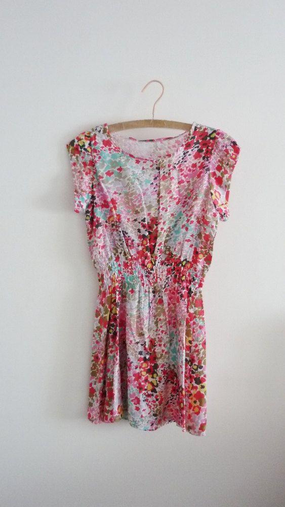 Multi-color Print Easy Dress