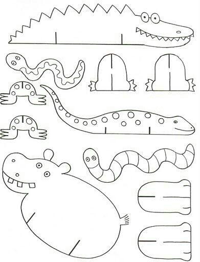 printable animal CRAFTS