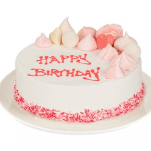 Cool Premium Pink Cake 1 Kg Sendcakeonline Ordercakedelivery Funny Birthday Cards Online Aboleapandamsfinfo