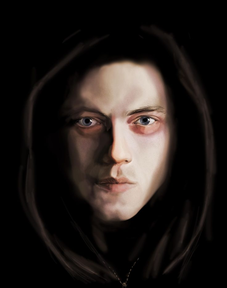 Mr. Robot quick painting #digital painting #mr.robot #fanart #ramimalek #mrrobot