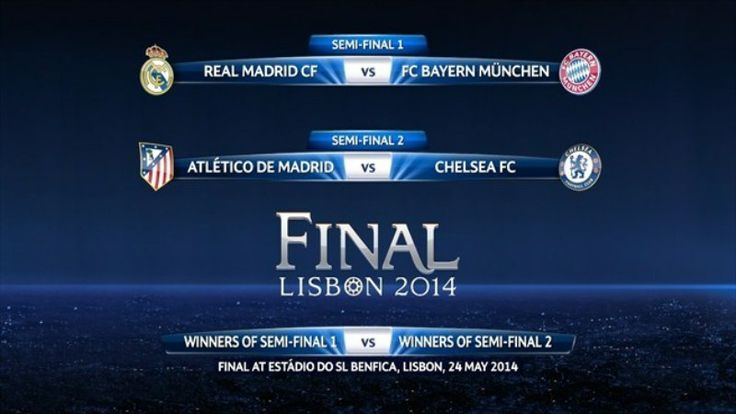 Real Madrid jumpa Munchen, Atletico tantang Chelsea