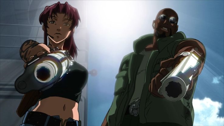 black lagoon revy and dutch