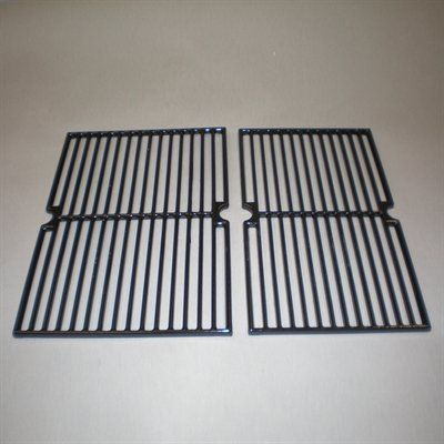 Heavy Duty BBQ Parts 63412 Gloss Cast Iron Cooking Grid for BBQ Tek/Presidents Choice Brand Gas Grills