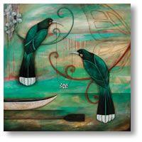 Manuka Chain by Kathryn Furniss - prints