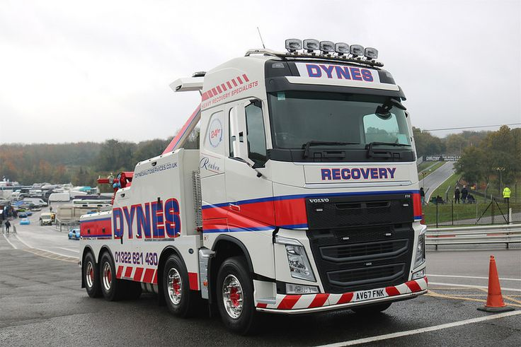 VOLVO FH - RECOVERY DYNES