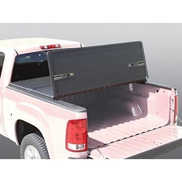Rugged Liner HC-F501 Premium Hard Tonneau Cover for Ford F-1, Silver aluminum