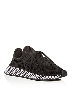 the best attitude 77c8e 8389f ADIDAS ORIGINALS WOMENS DEERUPT NET LACE UP SNEAKERS. adidasoriginals  shoes