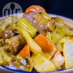 Sausage, Mushroom and Capsicum Casserole @ allrecipes.com.au