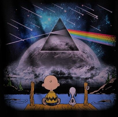 Don't you just love Pink Floyd, Snoopy?