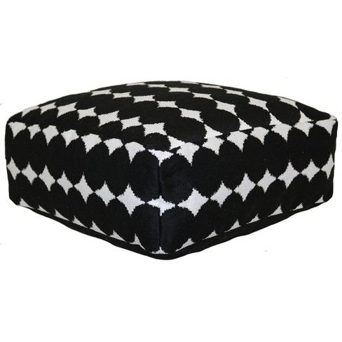 Outdoor Pouf Ikat Dot Project 62 Target Patio Outdoor