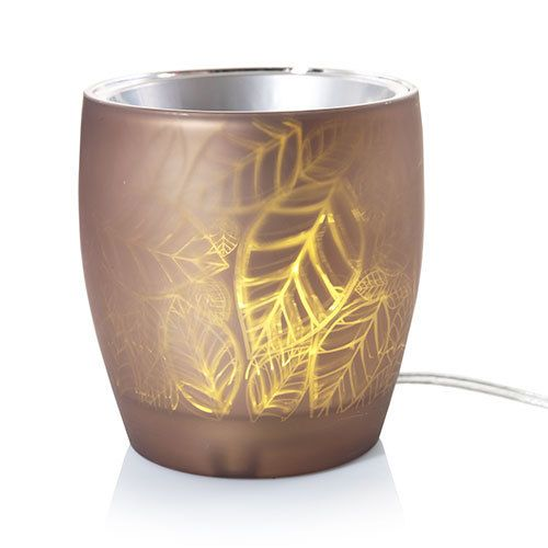 Dancing leaves w led and timer scenterpiece™ warmer