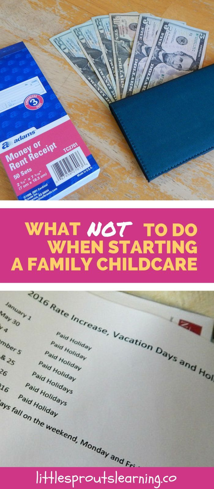 Starting a family childcare can be a daunting task. You wouldn't believe some of the mistakes I have made. I hope I can help you make less and work happier!