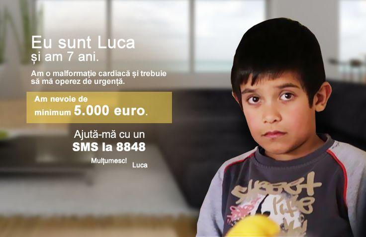 Luca Nițu are şapte ani şi o viaţă înainte. Este la vârsta la care îţi faci primii prieteni la şcoală, îţi cunoşti dascălii şi ai primele realizări, de care părinţii se simt mândri. Dar Luca este g...