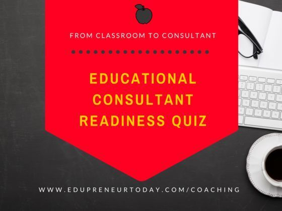 Education Consultant Readiness Quiz
