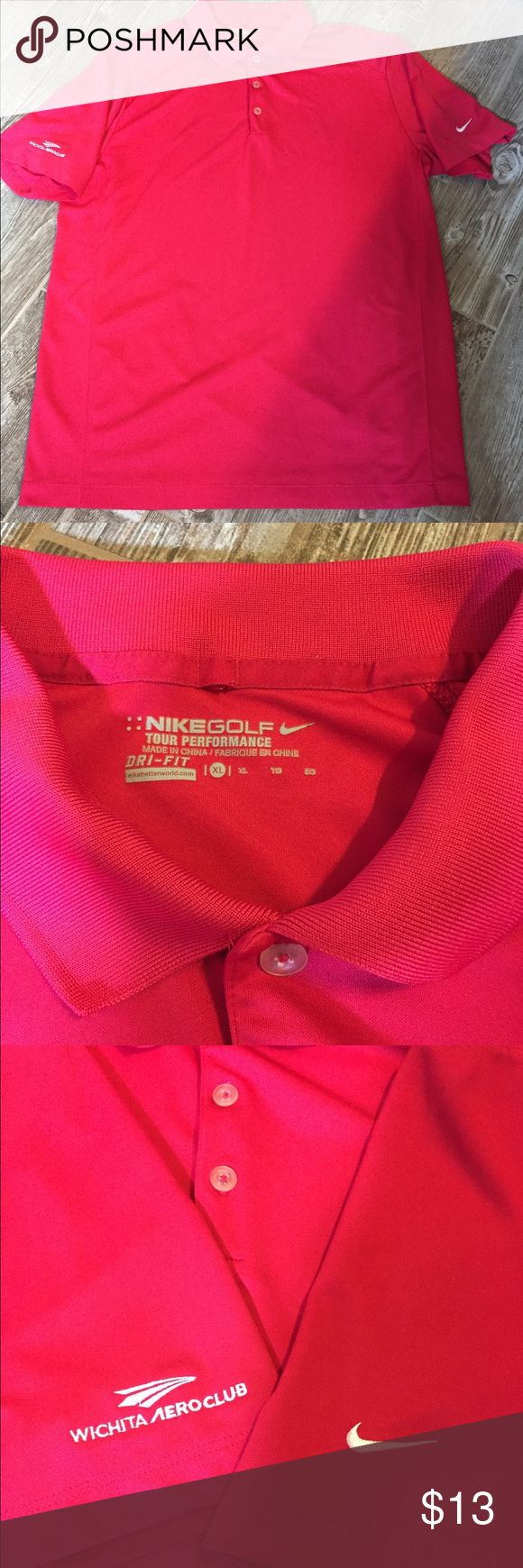 Nike Golf Polo Shirt XL In good condition. Size XL Logo on Sleeve shown in pic 3 From a smoke and animal free house Nike Shirts Polos