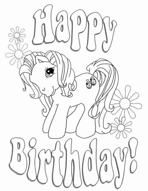 28 Happy Birthday Coloring Page Di 2020 Gambar Pejuang