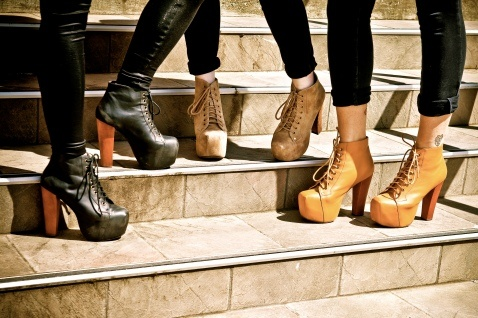 Jeffrey Campbell Shoes! Love the natural colors to go with any outfit