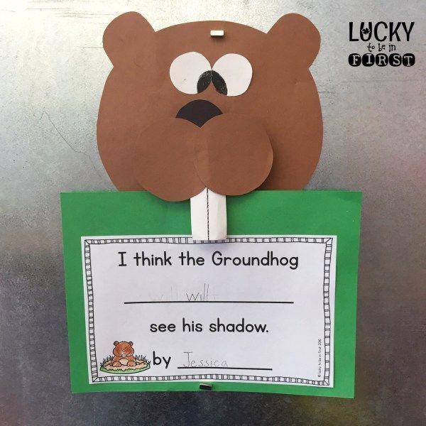 It's Almost Groundhog Day! Book & Craft Ideas! FREEBIE!