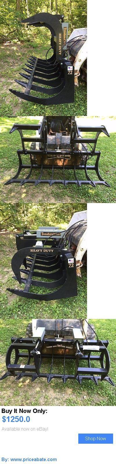 heavy equipment: New 72 Root Grapple Skid Steer/Tractor 6 Brush Bucket -Bobcat, Case, Cat, Etc BUY IT NOW ONLY: $1250.0 #priceabateheavyequipment OR #priceabate