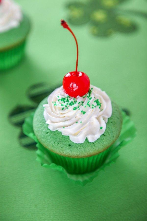 Shamrock Shake Cupcakes Recipe