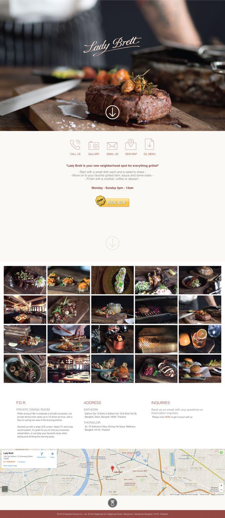 Lady Brett Tavern's website.  Created By @danjoso