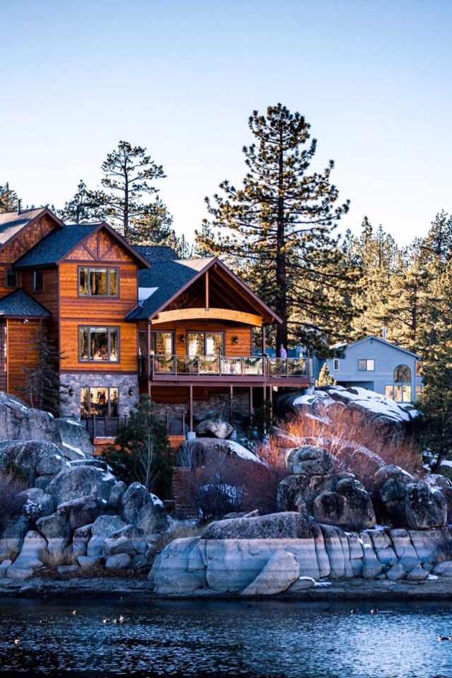 My life long dream is to have a house in the mountains