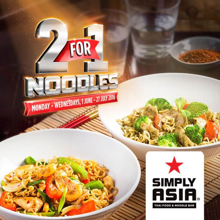 Wokking Winter 2-for-1 Noodle Deal at Simply Asia