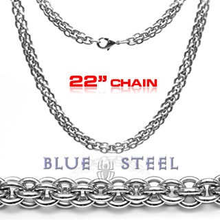 PIN IT TO WIN IT! Triple Boa: The Triple Boa chain is for those who fear nothing, living your life to the fullest. This necklace exudes strength, power, and confidence.      $149.00  www.buybluesteel.com