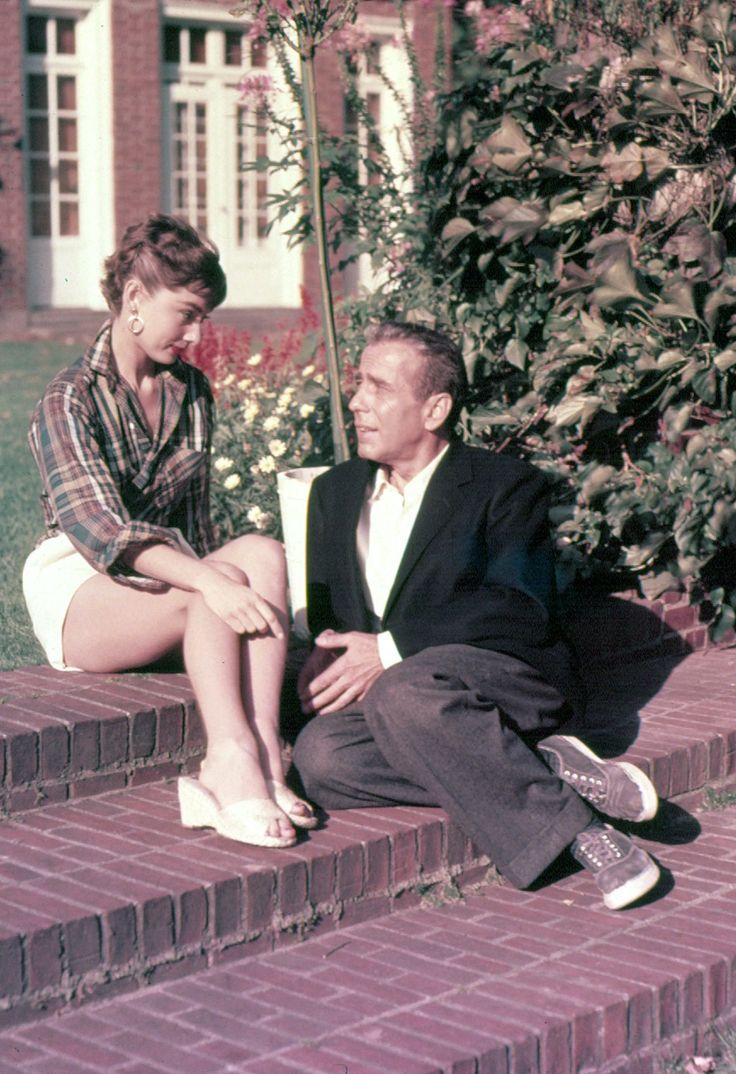 Sabrina/ Audrey Hepburn and Humphrey Bogart
