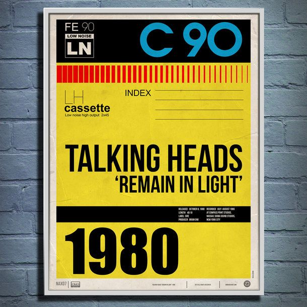 Fab.com | Talking Heads Remain in Light