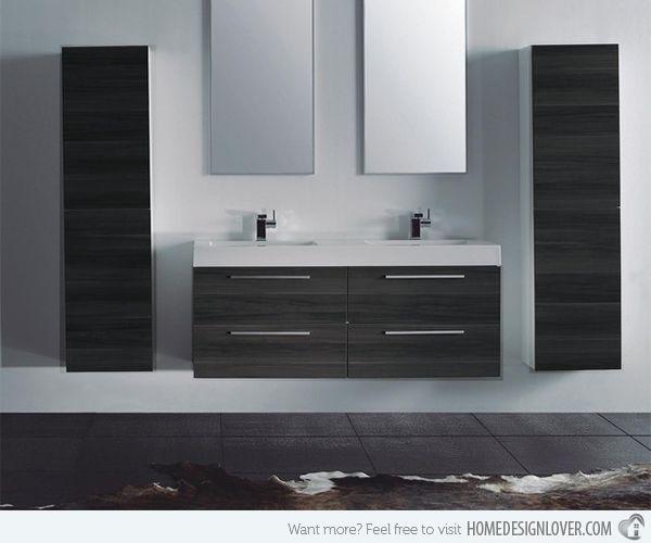 15 Modern Double Sink Bathroom Vanity Sets Double Sink