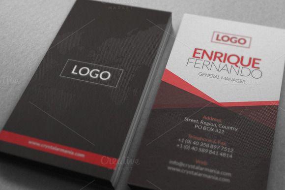 Global Business Card ~ Business Card šablóny na kreatívne trhu