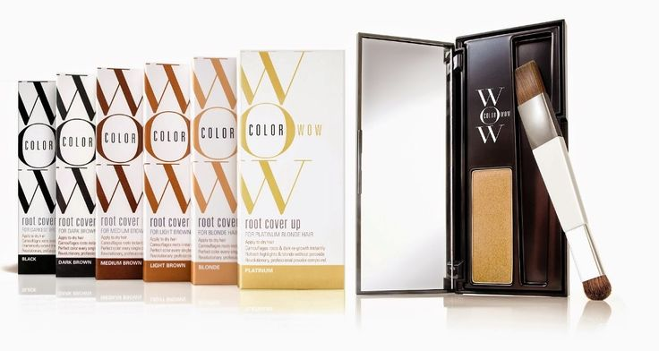 Color Wow Root Cover Up Available in 6 colors   CLAY + essence