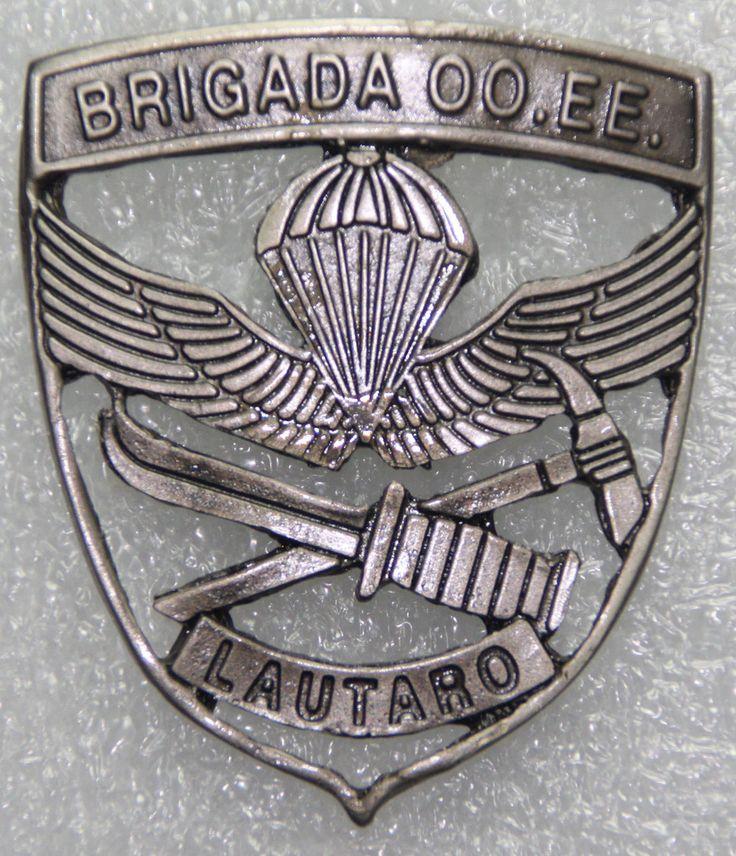 Special Operations Brigade Lautaro (Brigada de Operaciones Especiales Lautaro - B.OO.EE.) beret badge  Chilean Army
