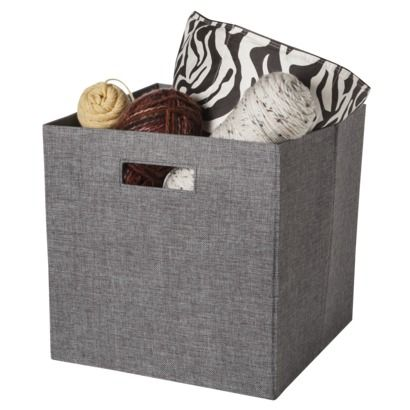 Attractive Threshold™ Storage Bin   Perfect Fit For The Ikea Expedit Shelves    13x13x13   $13