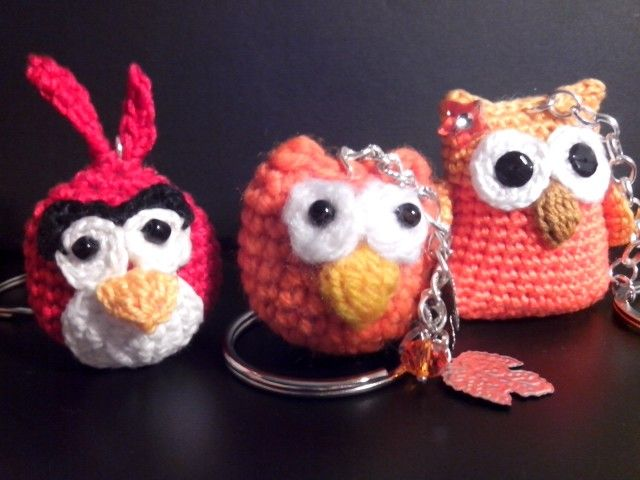 Angry bird e gufi...