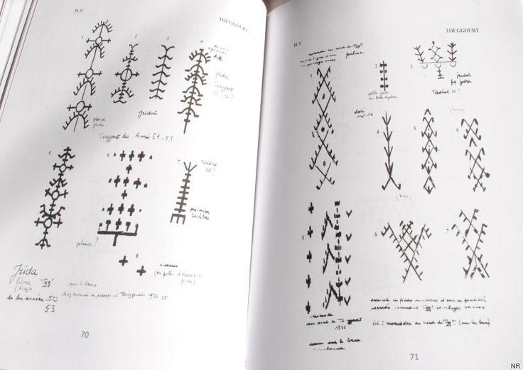 Petit manuel de lecture des tatouages berbères dans les Aurès et le Sud algérien