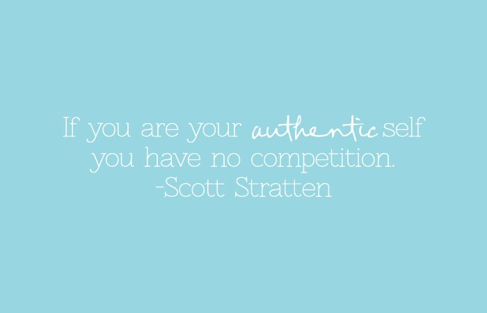 Be Your Authentic Self! this quote & recap of #goblogsocial on handmadeintheheartland.com today!
