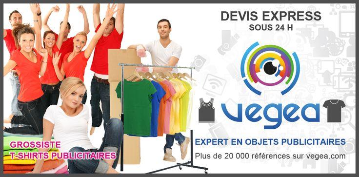 T-shirt publicitaire par VEGEA