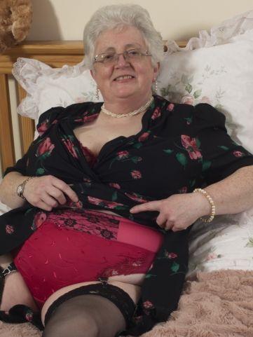 Bbw grey granny