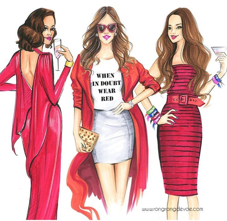 #valentinesday❤️by @rongrong_devoe_illustration  Be Inspirational ❥ Mz. Manerz: Being well dressed is a beautiful form of confidence, happiness & politeness